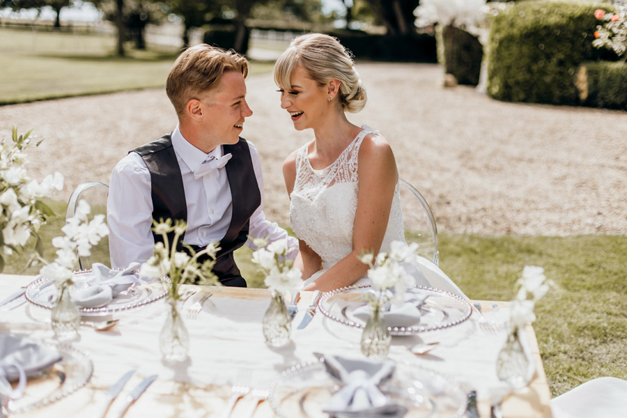 Luxe style inspiration for a small wedding, from Barnston Lodge. Photography credit Kate Boston (12)