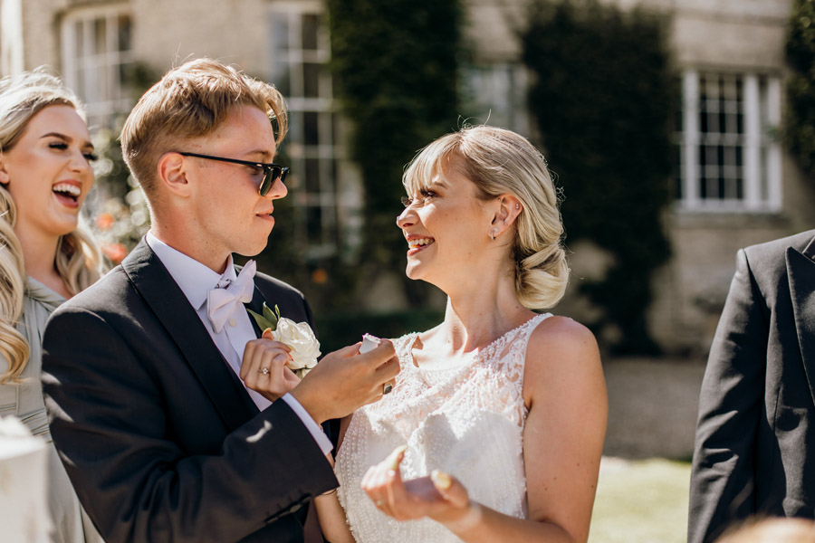 Luxe style inspiration for a small wedding, from Barnston Lodge. Photography credit Kate Boston (14)