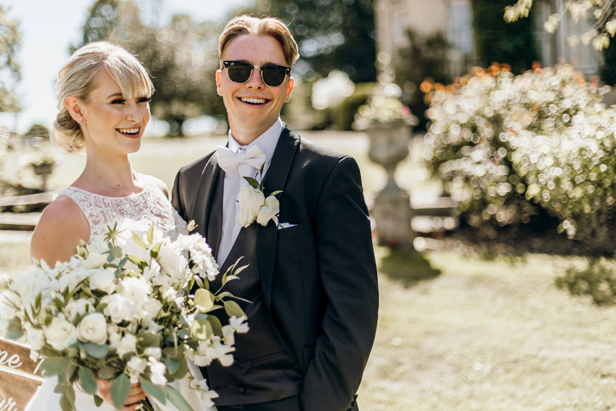 Luxe style inspiration for a small wedding, from Barnston Lodge. Photography credit Kate Boston (19)