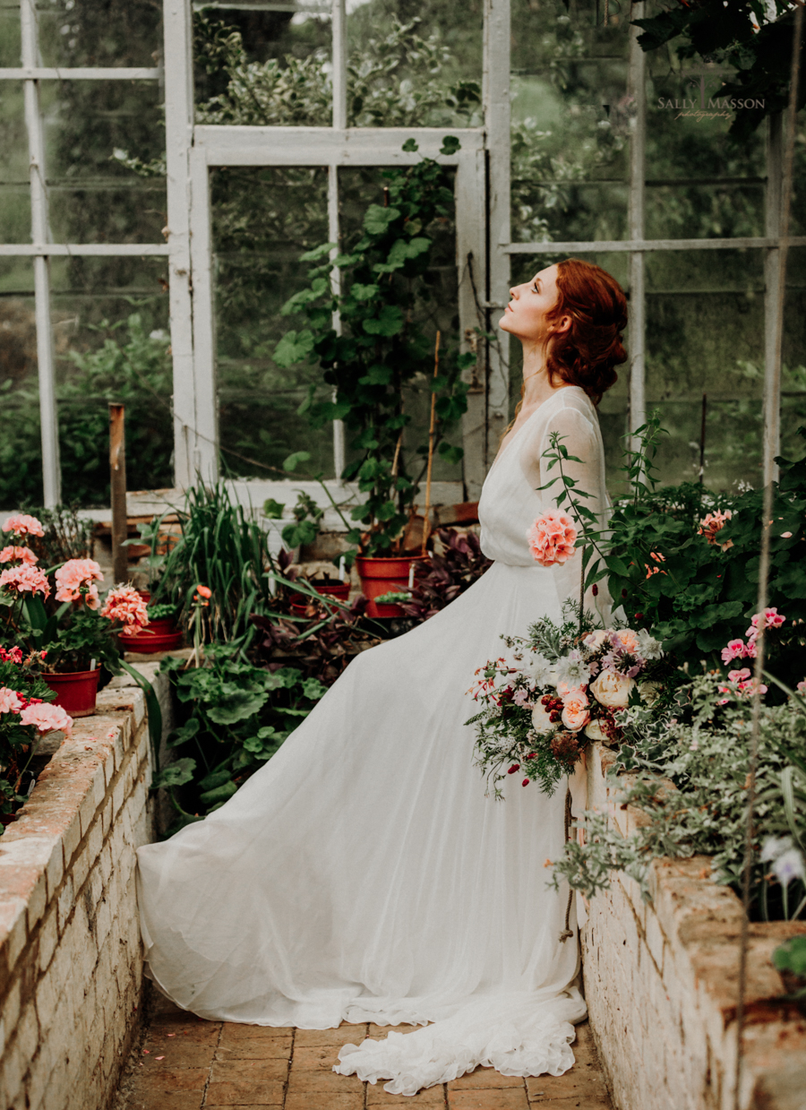 Beautiful wedding styling inspiration from The Gaddesden Estate in Hertfordshire edited photograph