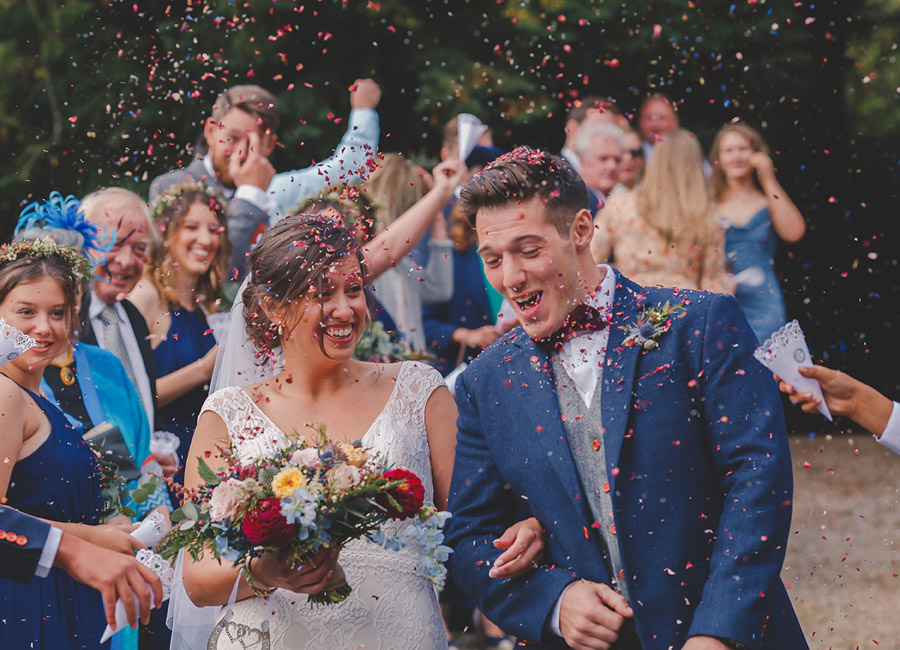 Awesome favourite confetti shot captured by Eternal Images Photography Norfolk
