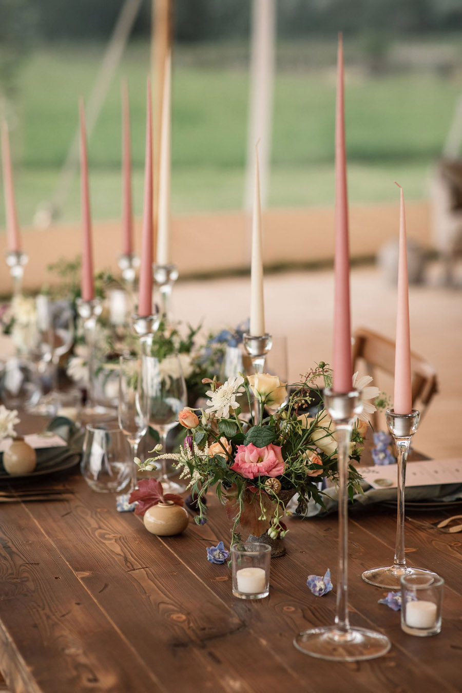 Evening sunset wedding inspiration at Willow Grange Farm, with Becky Harley Photography (11)