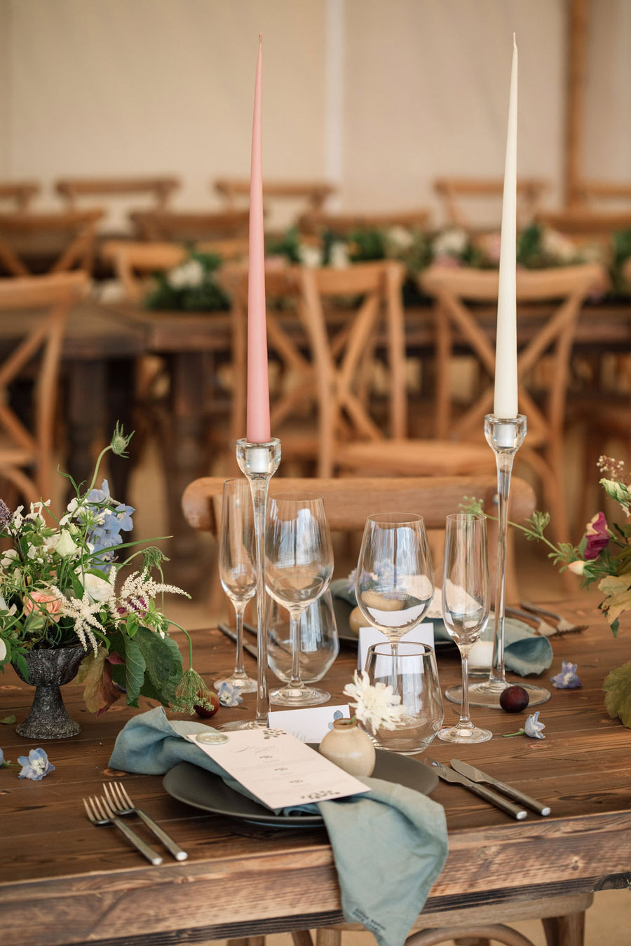 Evening sunset wedding inspiration at Willow Grange Farm, with Becky Harley Photography (14)