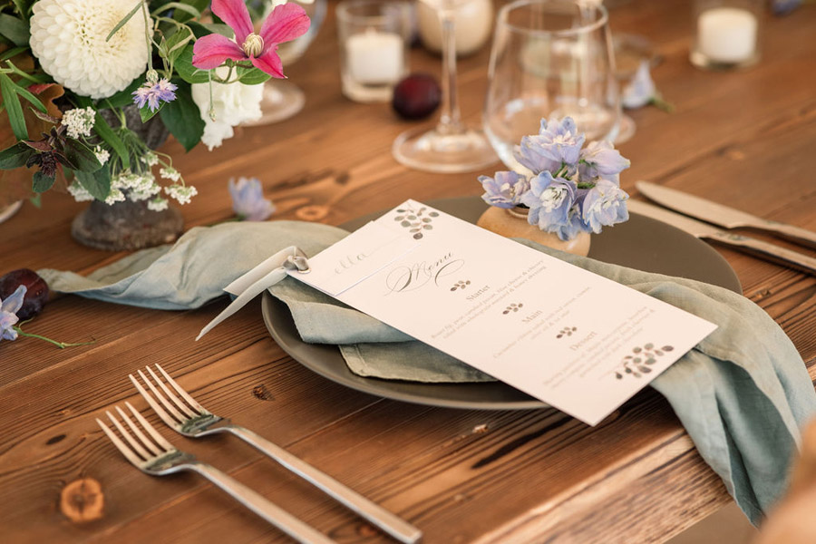 Evening sunset wedding inspiration at Willow Grange Farm, with Becky Harley Photography (15)