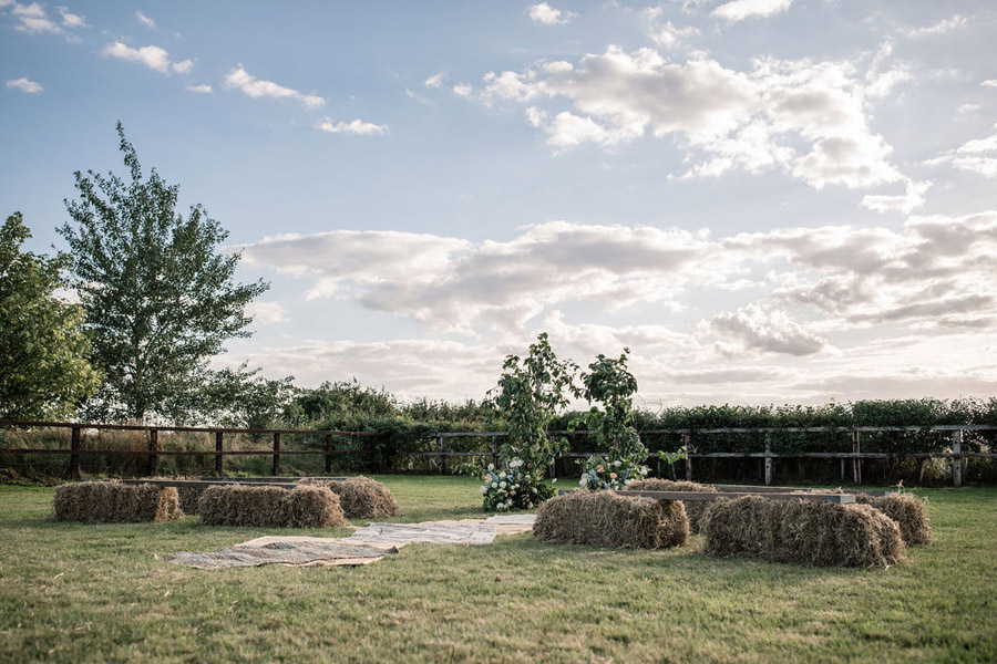 Evening sunset wedding inspiration at Willow Grange Farm, with Becky Harley Photography (32)