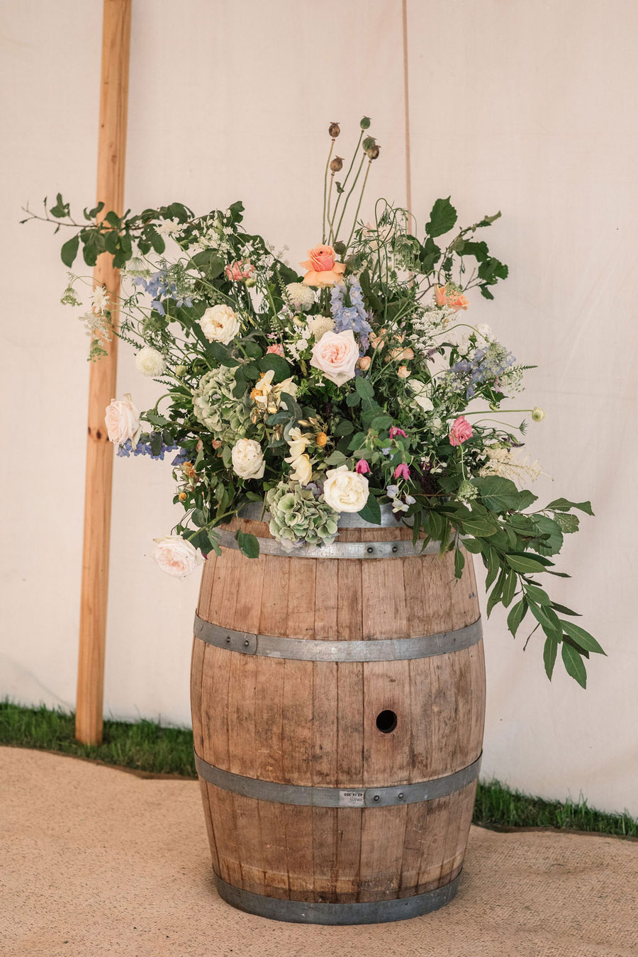 Evening sunset wedding inspiration at Willow Grange Farm, with Becky Harley Photography (41)