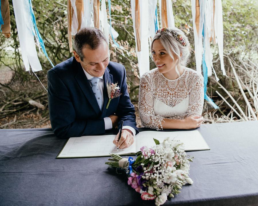 Laura & Dicky's amazingly creative tipi wedding, with Ellen J Photography (11)