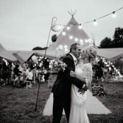 Laura & Dicky's amazingly creative tipi wedding, with Ellen J Photography