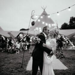 Laura & Dicky's amazingly creative tipi wedding, with Ellen J Photography