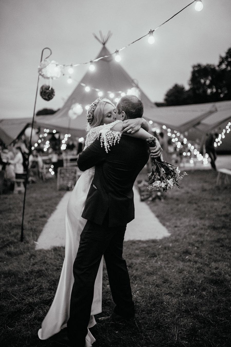 Laura & Dicky's amazingly creative tipi wedding, with Ellen J Photography (14)