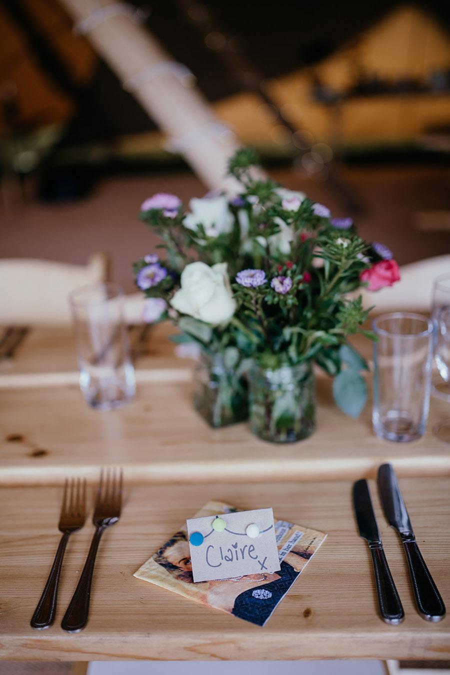 Laura & Dicky's amazingly creative tipi wedding, with Ellen J Photography (21)