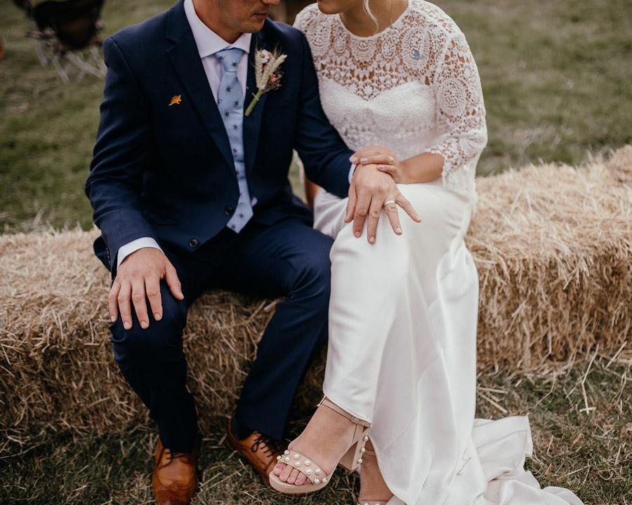 Laura & Dicky's amazingly creative tipi wedding, with Ellen J Photography (41)