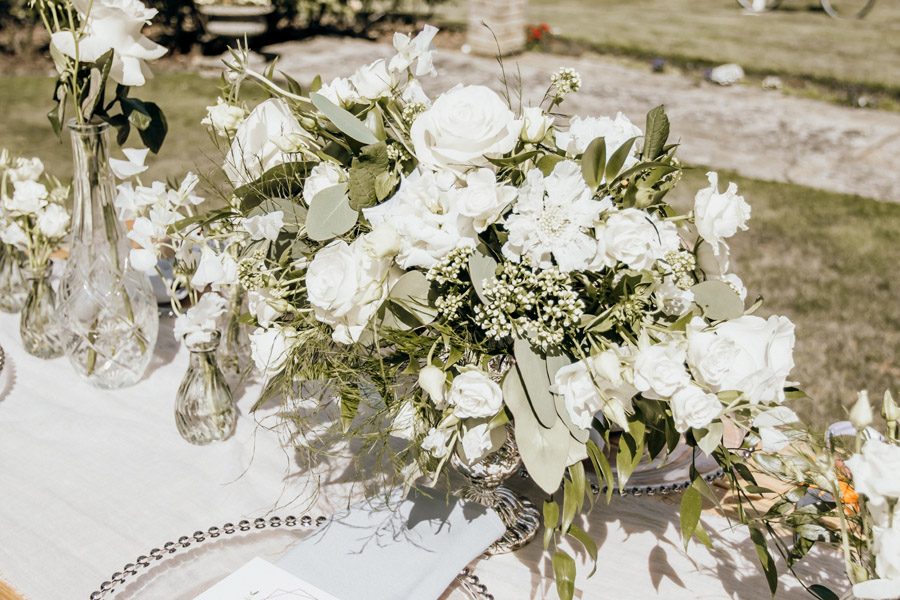 Luxe style inspiration for a small wedding, from Barnston Lodge. Photography credit Kate Boston (27)