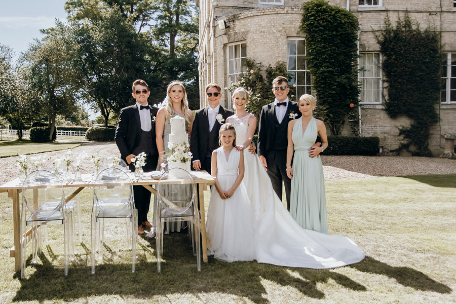 Luxe style inspiration for a small wedding, from Barnston Lodge. Photography credit Kate Boston (29)