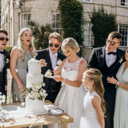Luxe style inspiration for a small wedding, from Barnston Lodge