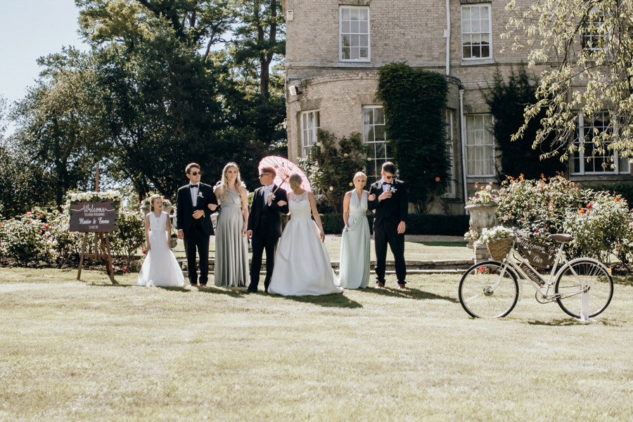 Luxe style inspiration for a small wedding, from Barnston Lodge. Photography credit Kate Boston (31)