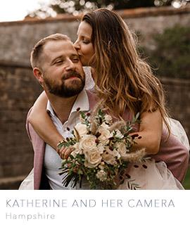 Hampshire wedding photographer Katherine and her Camera