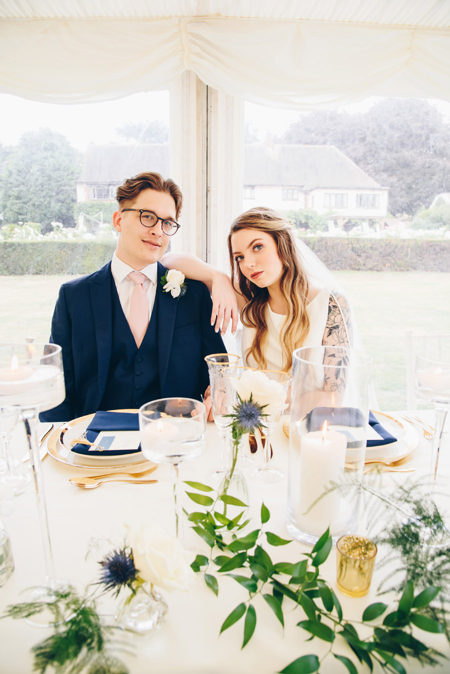 Timeless Elegance and beautiful micro wedding inspiration at New Lodge Lawns (29)