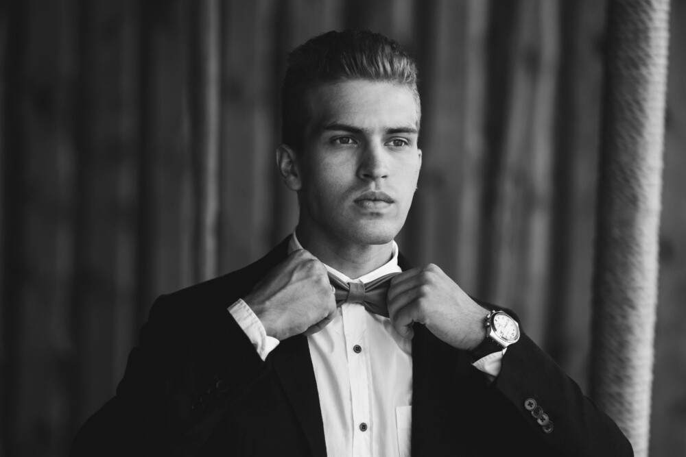 Tuxedo wedding style for men, with Suit Direct (3)