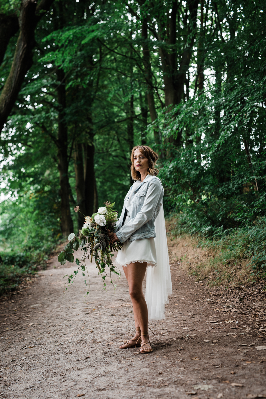 Sail away with me... wedding playsuit and fabulous florals by Fantail, image Fox Moon Photography (19)