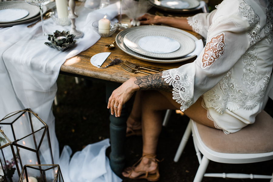 Sail away with me... wedding playsuit and fabulous florals by Fantail, image Fox Moon Photography (39)