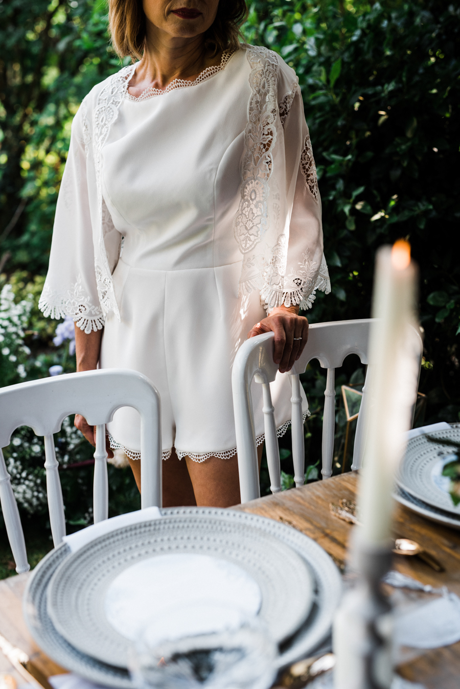 Sail away with me... wedding playsuit and fabulous florals by Fantail, image Fox Moon Photography (41)