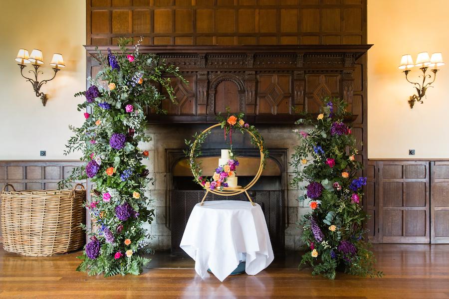 Jewel toned autumn wedding vibes from Layer Marney, image credit Ayshea Goldberg Photography (17)