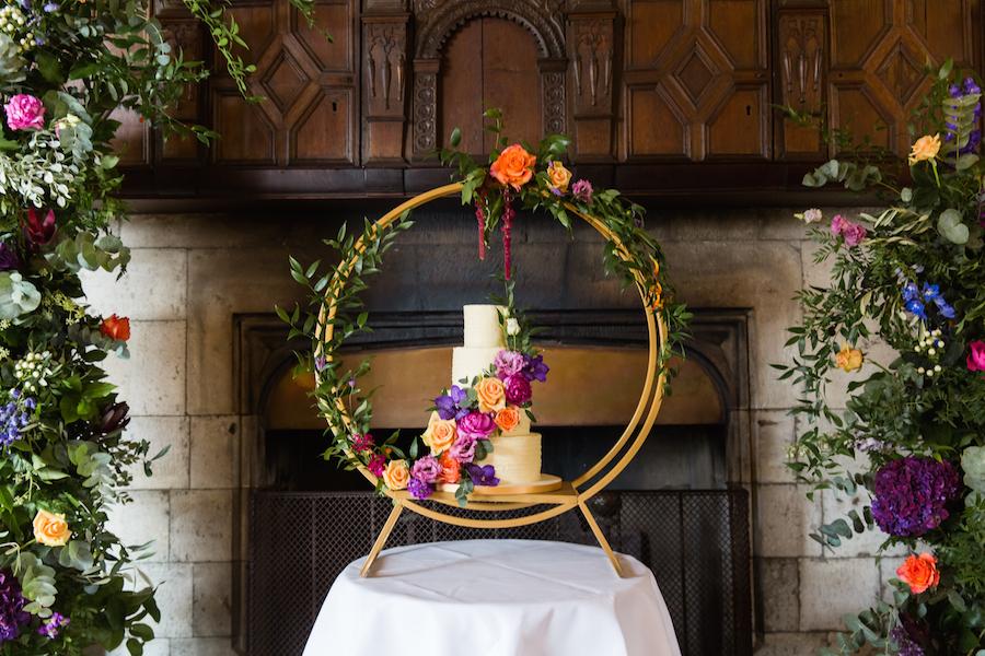 Jewel toned autumn wedding vibes from Layer Marney, image credit Ayshea Goldberg Photography (18)