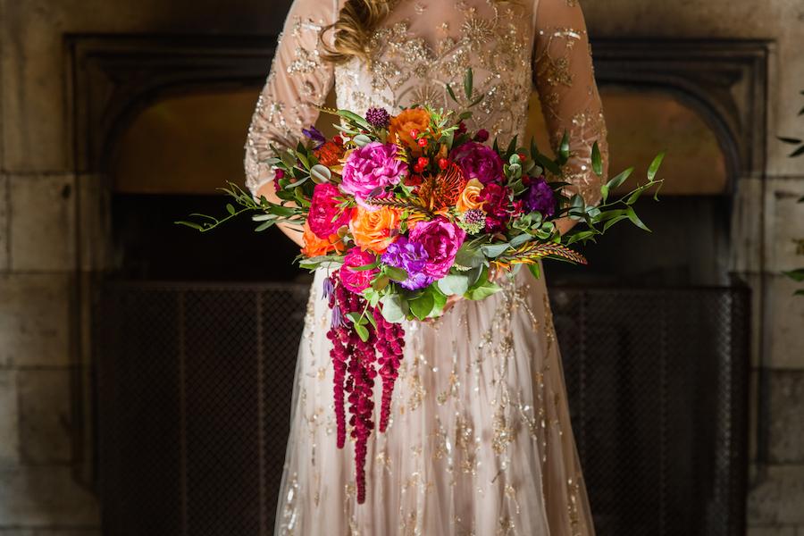Jewel toned autumn wedding vibes from Layer Marney, image credit Ayshea Goldberg Photography (26)