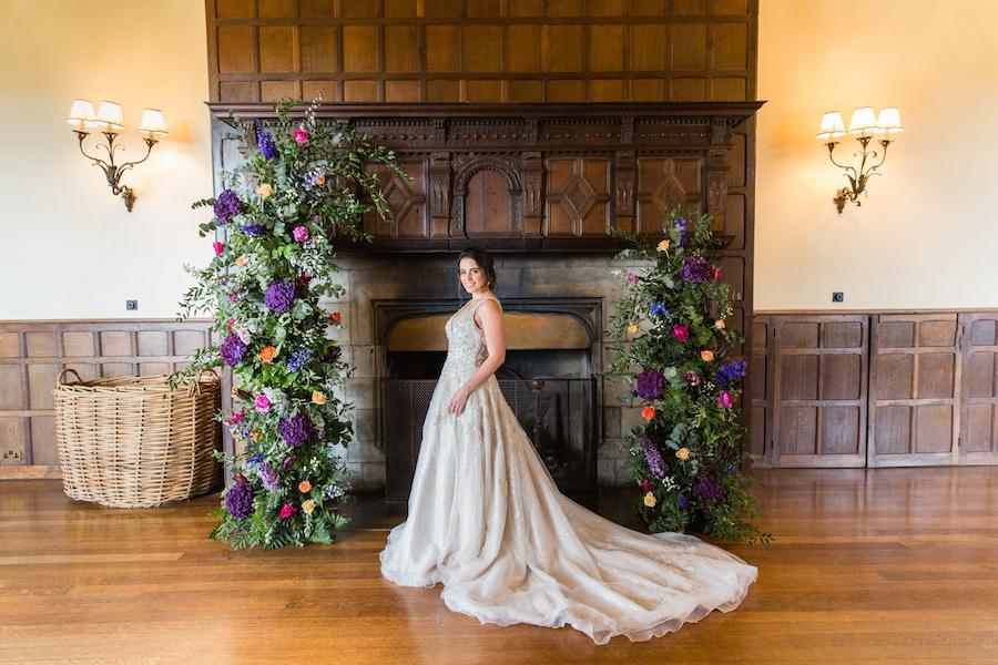 Jewel toned autumn wedding vibes from Layer Marney, image credit Ayshea Goldberg Photography (30)