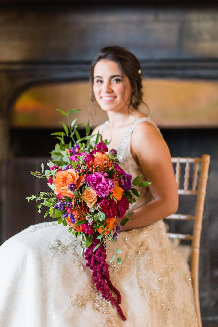 Jewel toned autumn wedding vibes from Layer Marney, image credit Ayshea Goldberg Photography (2)