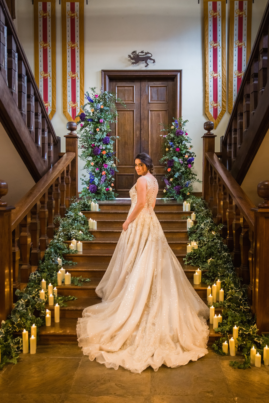 Jewel toned autumn wedding vibes from Layer Marney, image credit Ayshea Goldberg Photography (39)
