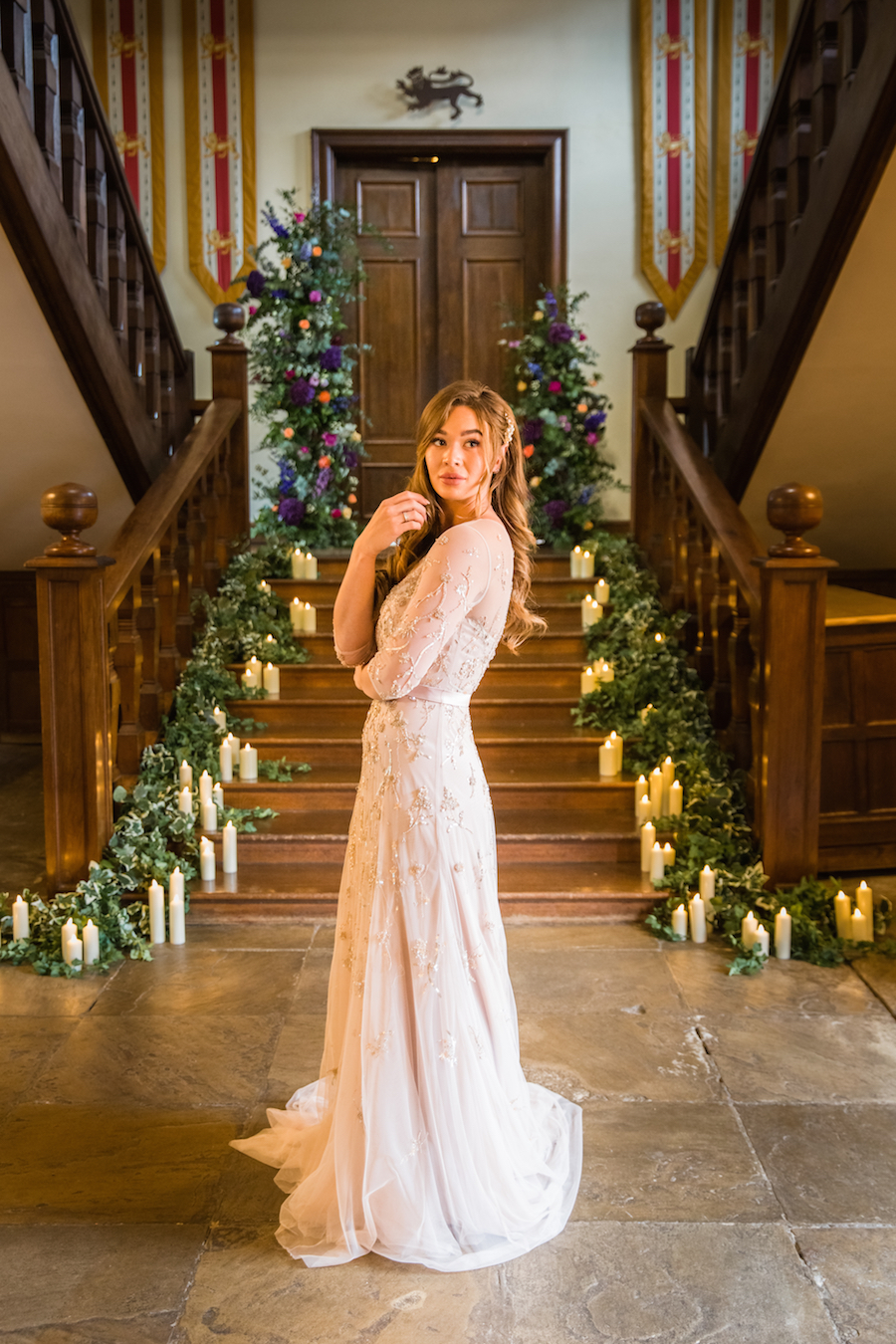 Jewel toned autumn wedding vibes from Layer Marney, image credit Ayshea Goldberg Photography (42)