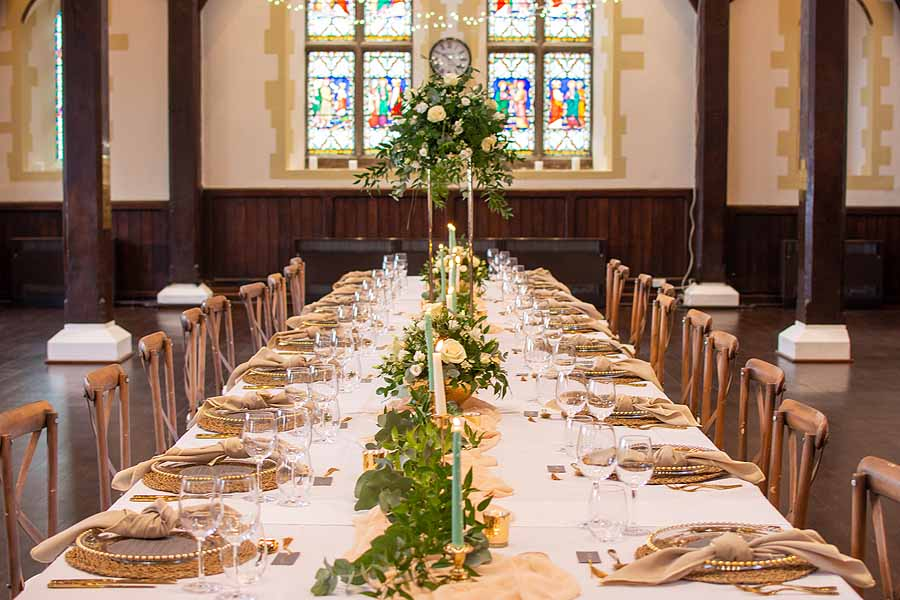 Elegant and timeless wedding styling at Bradfield College, with Lorna Richerby Photography (1)