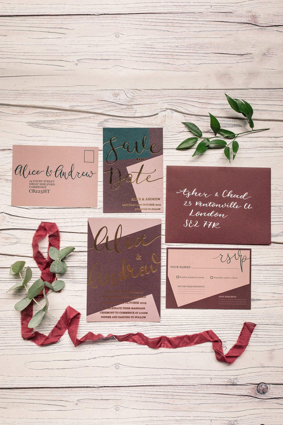 Autumnal burgundy wedding style inspiration with Becky Harley Photography (8)