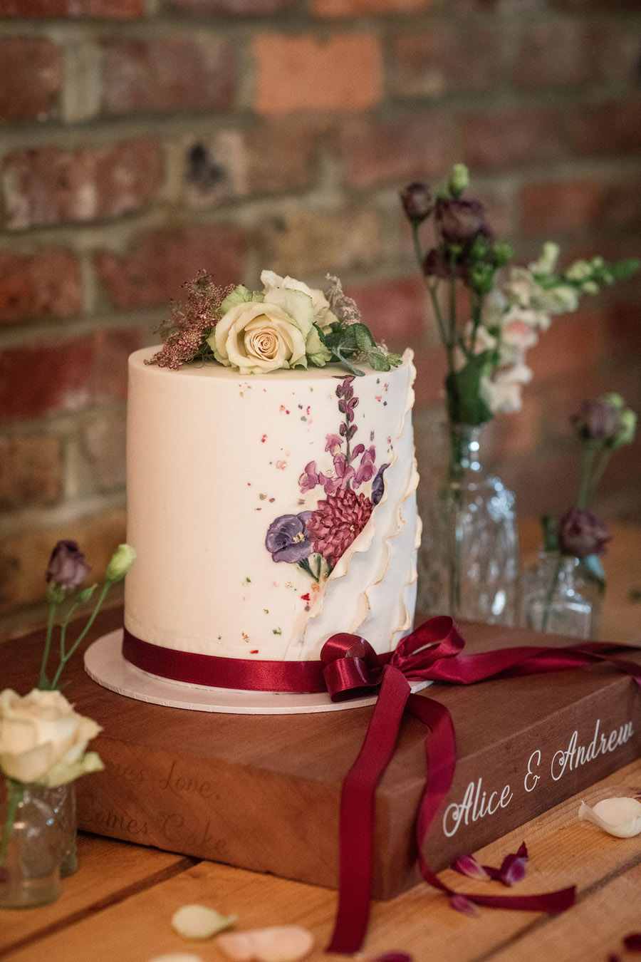 Autumnal burgundy wedding style inspiration with Becky Harley Photography (24)