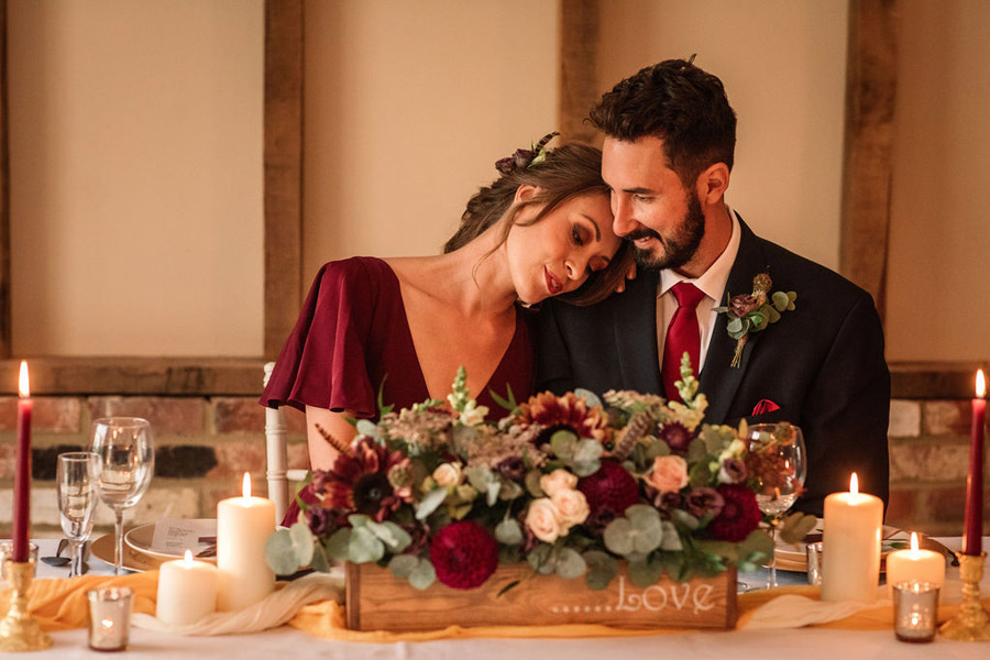 Autumnal burgundy wedding style inspiration with Becky Harley Photography (25)