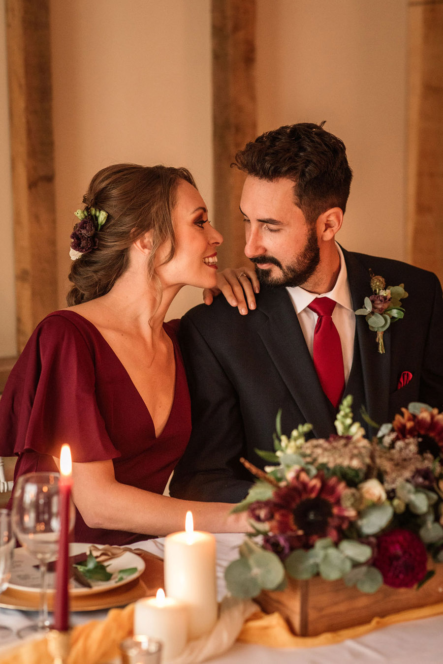 Autumnal burgundy wedding style inspiration with Becky Harley Photography (26)