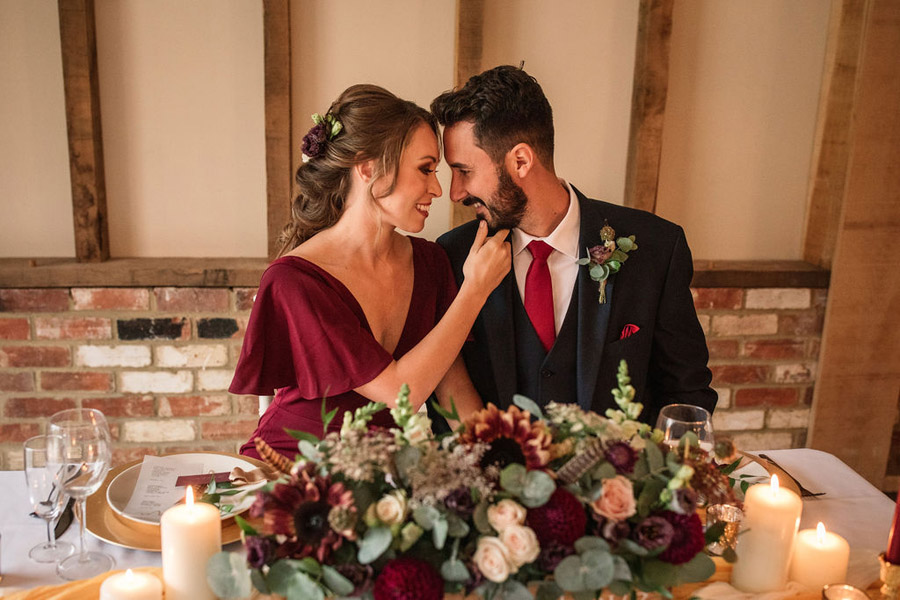 Autumnal burgundy wedding style inspiration with Becky Harley Photography (27)