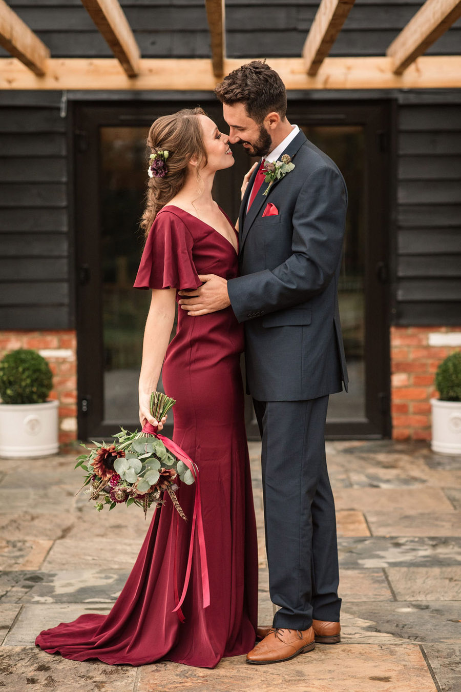 Autumnal burgundy wedding style inspiration with Becky Harley Photography (28)