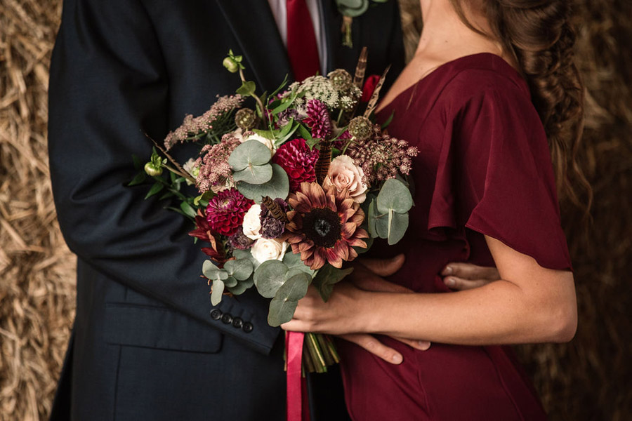 Autumnal burgundy wedding style inspiration with Becky Harley Photography (34)
