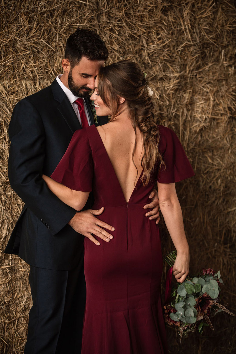 Autumnal burgundy wedding style inspiration with Becky Harley Photography (35)