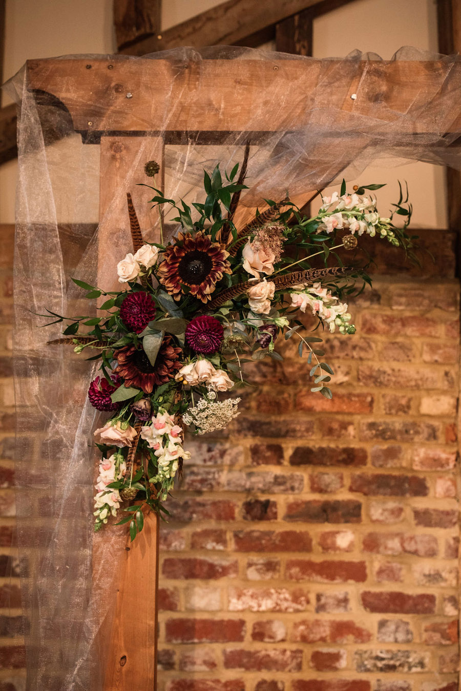 Autumnal burgundy wedding style inspiration with Becky Harley Photography (50)
