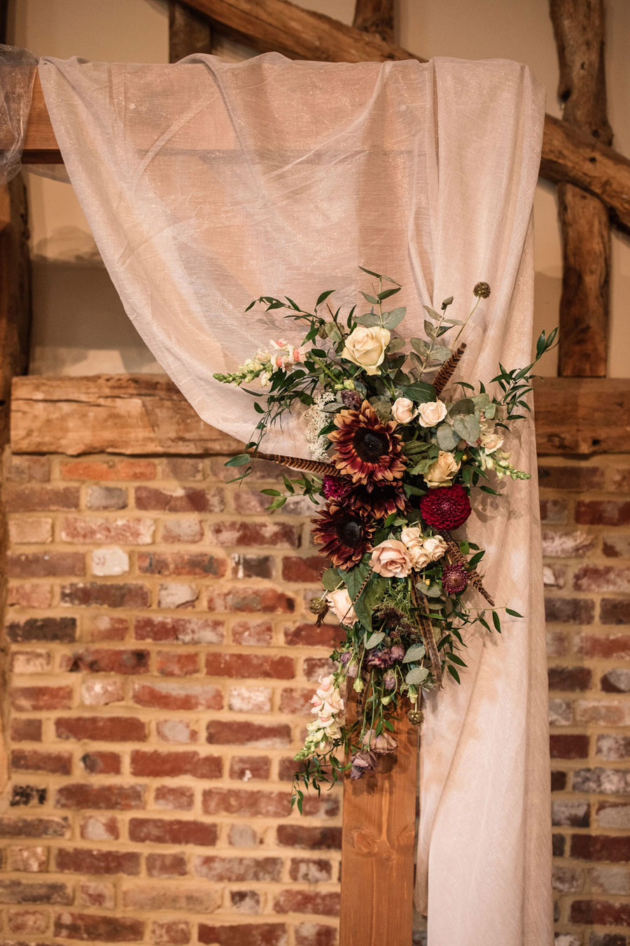 Autumnal burgundy wedding style inspiration with Becky Harley Photography (51)