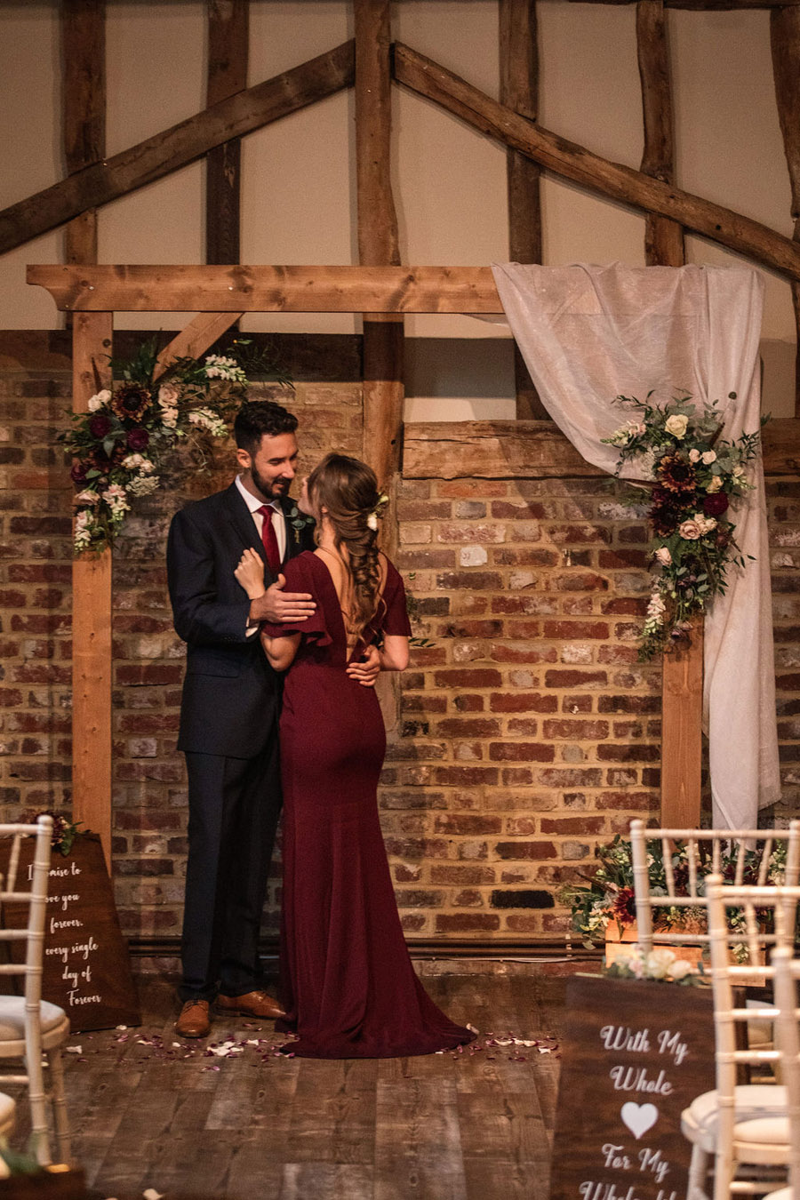 Autumnal burgundy wedding style inspiration with Becky Harley Photography (53)