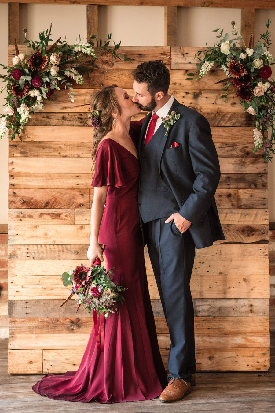 Autumnal burgundy wedding style inspiration with Becky Harley Photography (62)