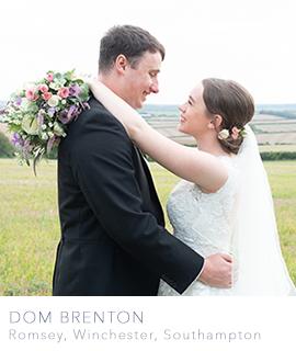 Romsey wedding photographer Dom Brenton
