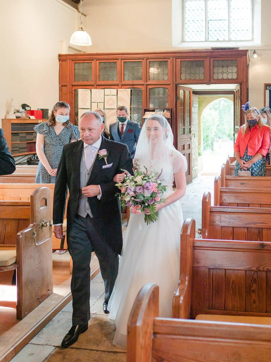 Michaela and Rupert's Dorset church wedding, image credit Dom Brenton Photography (9)