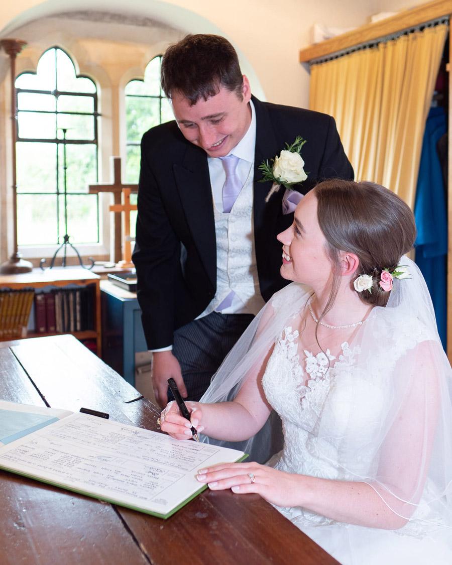Michaela and Rupert's Dorset church wedding, image credit Dom Brenton Photography (17)