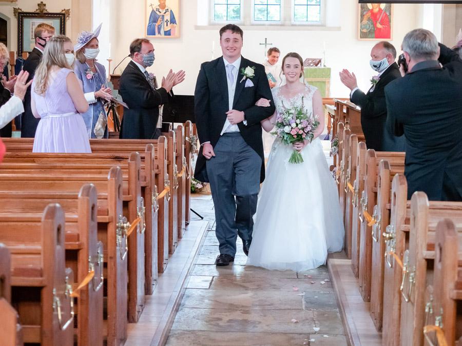 Michaela and Rupert's Dorset church wedding, image credit Dom Brenton Photography (19)